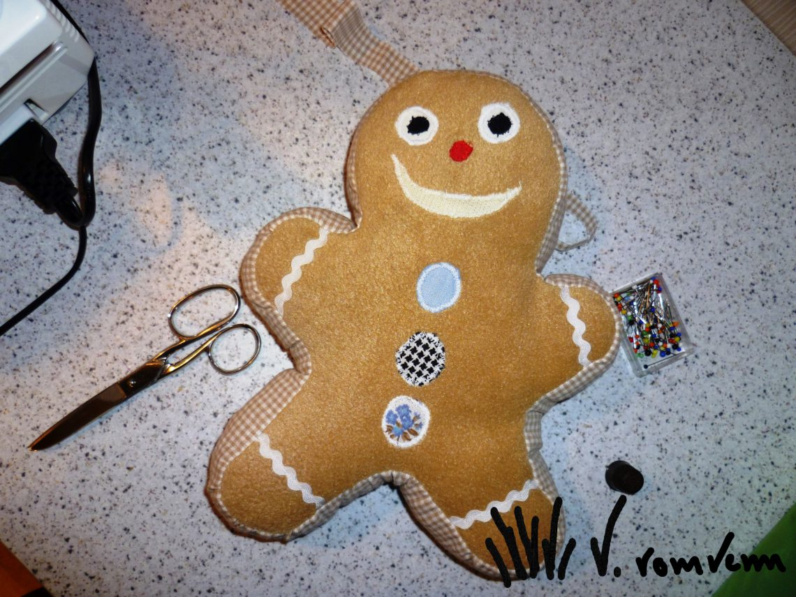 Gingerbread Teddy
