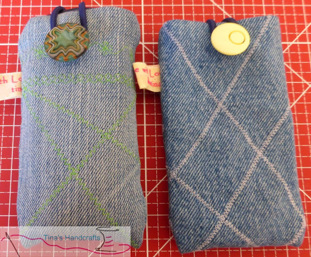 Handytasche Upcycling Jeans