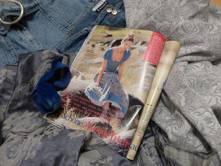 Dirndl Upcycling Jeans