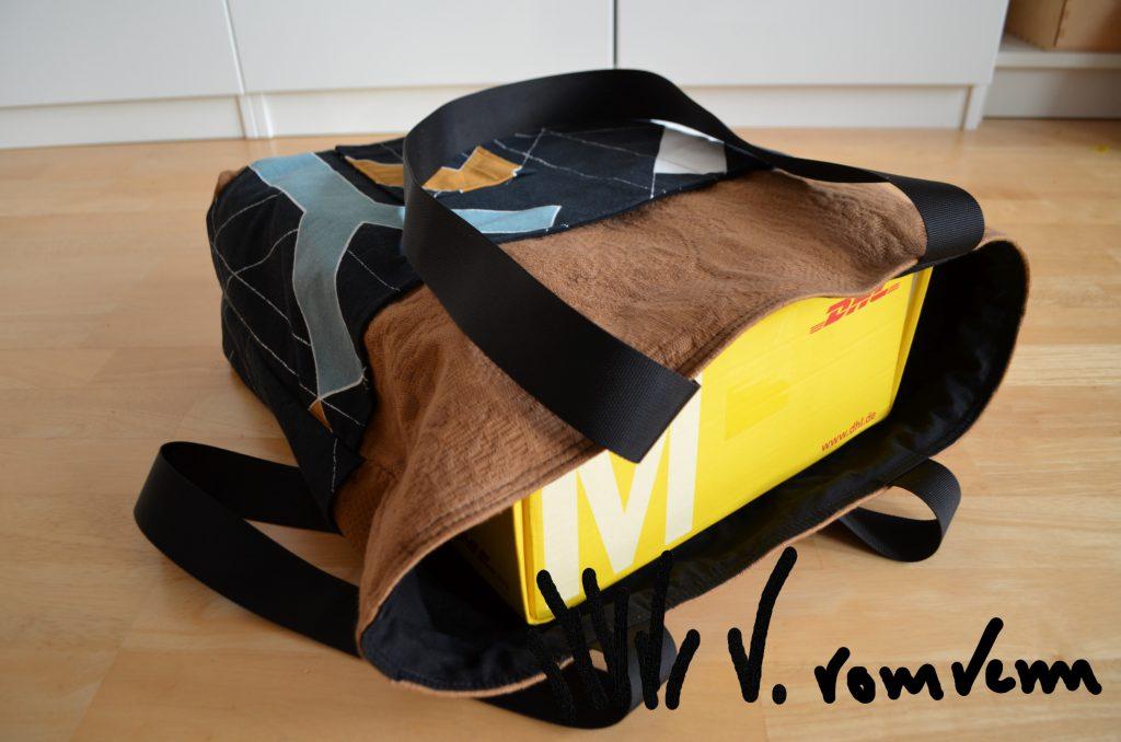 Y-Tasche Ikea Stoff